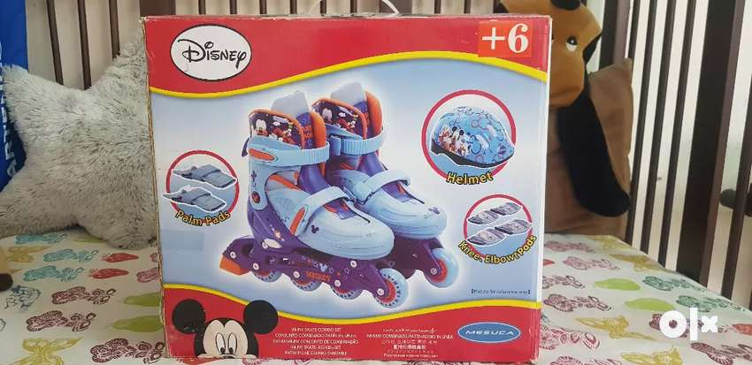 Junior Skate Disney Combo Set - As Good As New 0