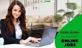 Homebased Online Job For Students, Housewives