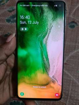 Samsung S10 8gb/128gb Rs.23000(fixed price)