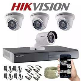 PAKET CAMERA CCTV TERLENGKAP 2MP FULL HD 1080P