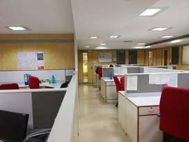 Fully furnished office space for rent 11000 sq f at infantry road