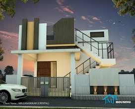 2 BHK Villas for sale at Mettupalayam road