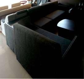 corner sofa on OFFER jute type MRP 28900 EMI 2527