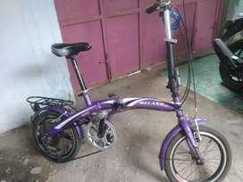 Sepeda lipat melano