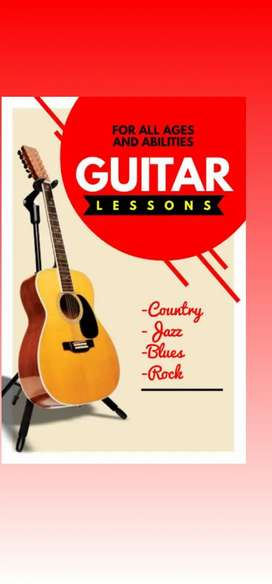 Home tutors for music and guitar classes ,
