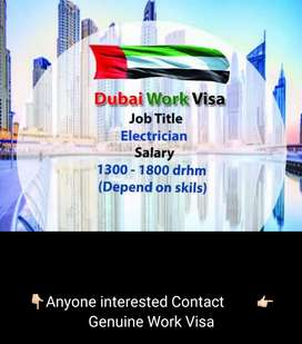 Electrician is required in Dubai company. Genuine work