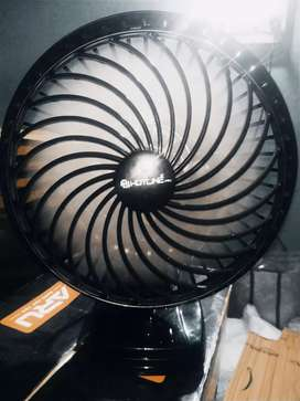Wall / Table Fan With 1 Year Warranty (BLACK) (New-Seal-Packed-Fan)