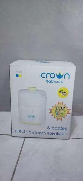 Crown 6 Bottle (Alat Sterilisasi Botol Susu Bayik)