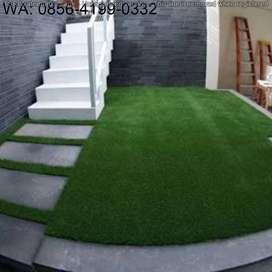 Supplier Karpet Rumput Sintetis Untuk Taman Ukuran 30mm