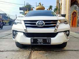 TOYOTA ALL NEW FORTUNER VRZ 2,4 AT 2017 PUTIH TDP MULAI 71JT