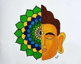 Mandala frame