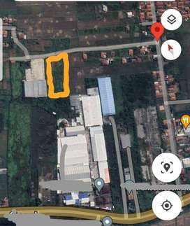 Tanah luas lokasi strategis cocok untuk perindustrian di Cirebon