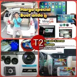 Grosir 2DIN ANDROIDLINK 7INC FULL HD+PAKET AUDIO KOMPLIT mumer laris