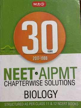 NEET BIOLOGY chapterwise solutions 32 years 2019-1988
