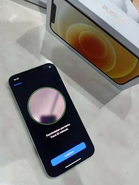 iPhone 12 64gb fullset terawat mulus like new