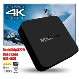Online Wholesales MXQ-4K Android 4.4 Smart TV BOX XBMC Fully Loaded Qu