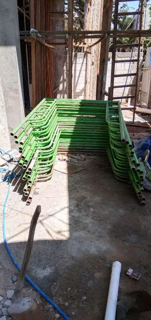 (903#)Ready stock scaffolding frame semua item steger 0
