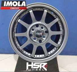 Velg Import Ring 15 HSR GYMKANA Mobil Calya Agya R15x65 Pcd 8x100-114,