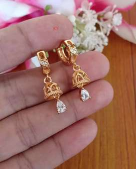 Anting xuping cantik motif lonceng