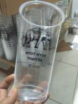 Gelas cup/gelas plastik Thai tea
