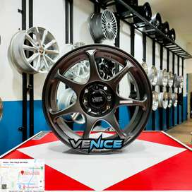 Velg Mobil Racing Ring 16 Terlaris Brio, City, Livina, Agya, Ayla, Dll
