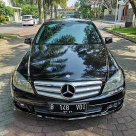 Mercedes Benz C200 K 2009 Hitam Orisinil
