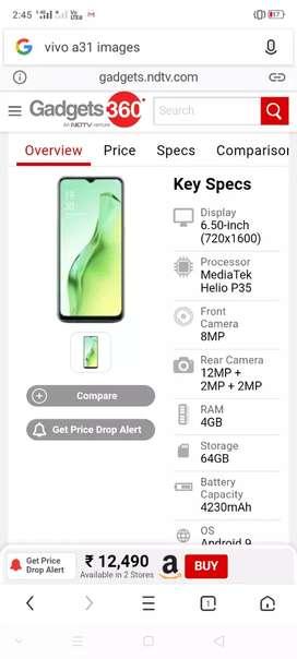 A31 mobile sale