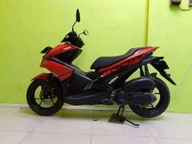 Yamaha Aerox 155 merah 2019