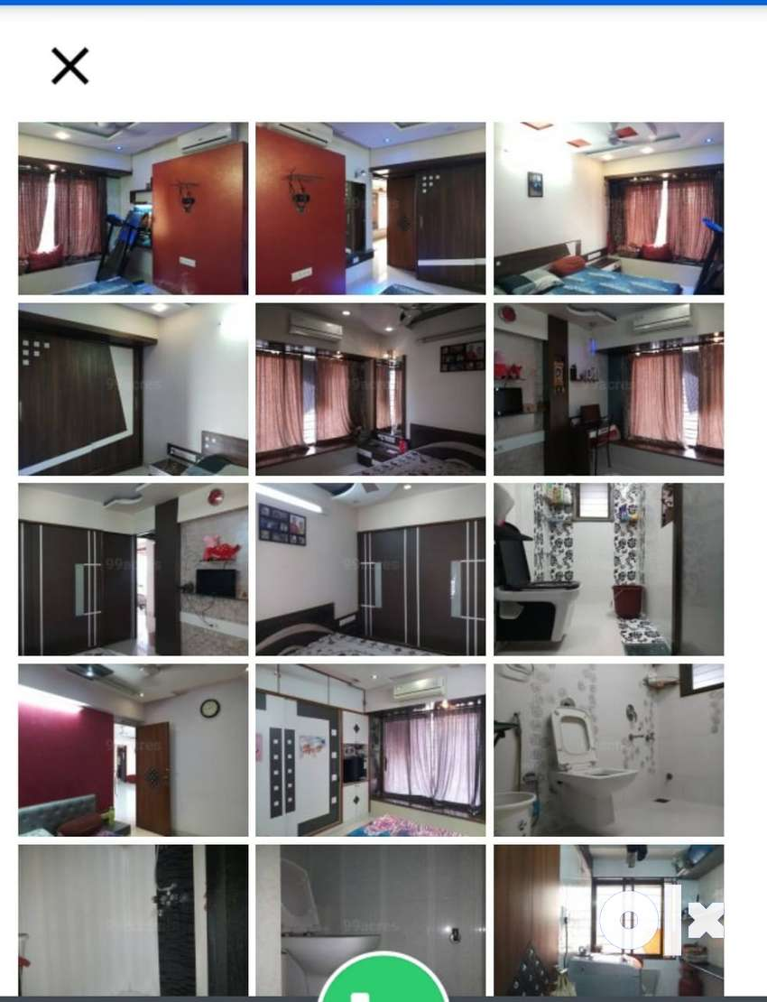 Fully furnished 4 & half BHK flat for sale 0