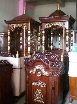 mimbar masjid elegan