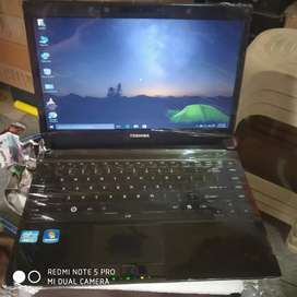 Toshiba portage corei5 laptop/4gb/320gb/13500