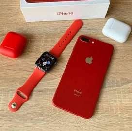 Apple iPhone 8 plus 256 GB red colour COD