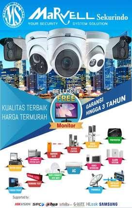 Paket Murah..SPC 2mp  Paket CCTV 2 MP sudah termasuk :  *PASANG !