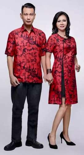 Dress batik lorita