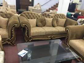 Sofa, chair poshish at your doorstep.
