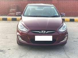 Hyundai Verna Fluidic 1.6 CRDi SX AT, 2014, Diesel