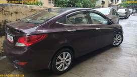Hyundai Fluidic Verna 2012 Petrol Well Maintained