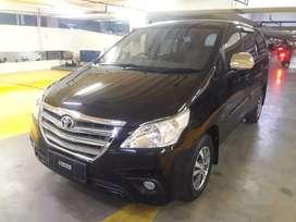 Toyota kijang Innova G 2.0 Automatic 2015 Black Istimewa