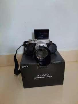 Kamera fujifil XA-10 16-50 Silver