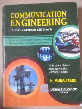 COMMUNICATION ENGINEERING for BE 5 SEMISTER