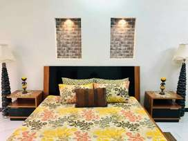 Furnished 10 marla 3 Bed room upper portion for rent Bahria town ph 4