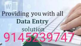 New Data Entry Projects For Housewives !!