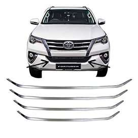list grill radiator chrome fortuner vrz