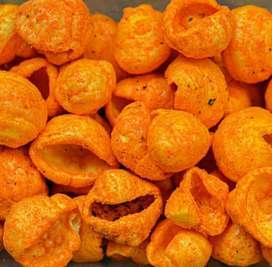 Kerupuk keong pedas daun jeruk 250 gr