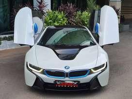 BMW i8 Coupe 2016 Nik 2015 White on White Record BMW Astra Odo 60RB