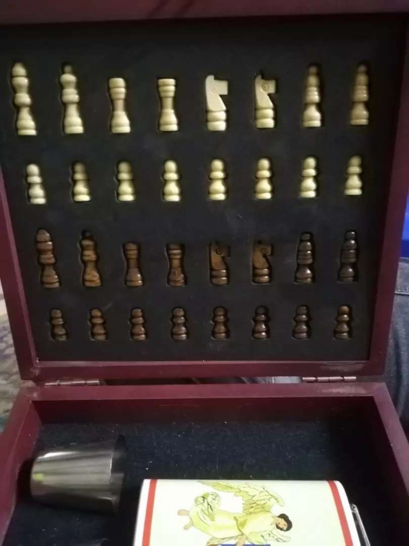 Vintage rare club chess set for sale
