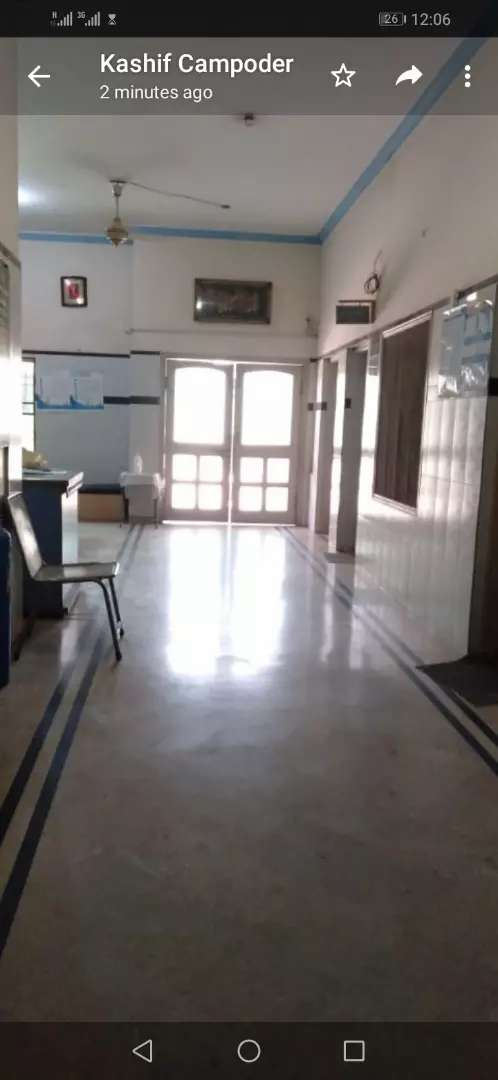 Hospital building fully furnished and functional for rent o 23 Marla 0