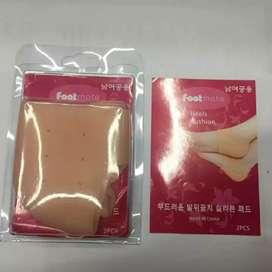 Silicone Soft Gel Heel Protector/ Pelindung Tumit Kaki