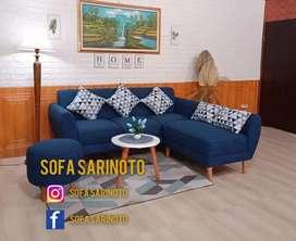 Sofa minimalis ruster retro