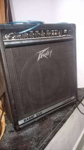 Bass Guitar amplifiers peavey USA exchange with good bass guitar